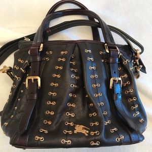 Burberry Prorsum Lowry Metal Stitch satchel